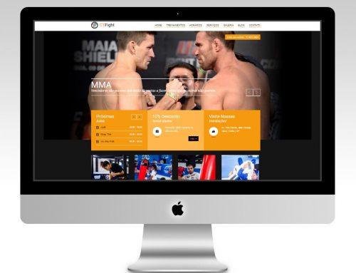Criação de Site – CTFight.com.br