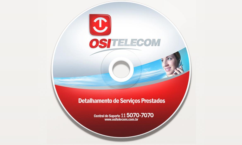 Criação de logotipo para empresa de telecomunicação