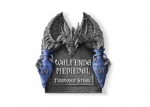 Criação de logotipo para restaurante temático