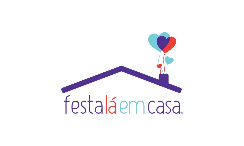 Criação de logotipo para organizadora de festa