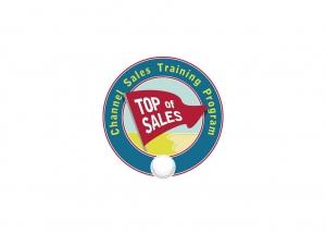 Logotipo para programa de treinamento de vendas