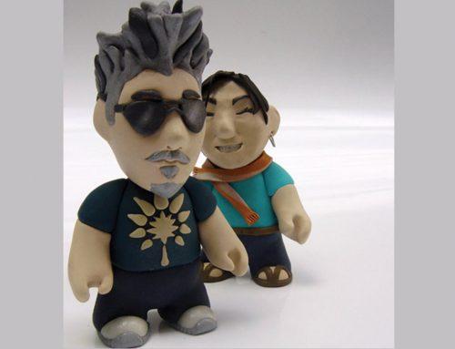 Boneco de Massinha Japas