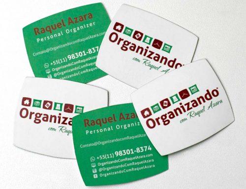 Cartão de Visita – Organizando com Raquel Azara