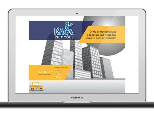 Desenvolvimento de Site – Kao Isenções