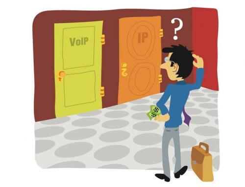 Ilustração VoIP IP?