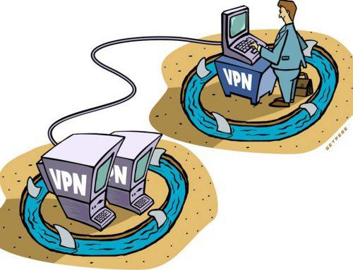 Ilustração VPN
