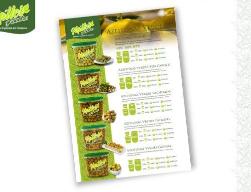 Personalização Flyer – Miller Foods