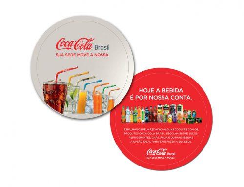 Descanso de copo – Coca Cola