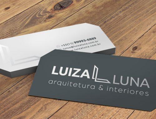 Cartão de Visita Luiza Luna