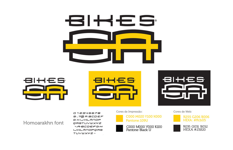 Criação de logotipo para empresa de bicicleta