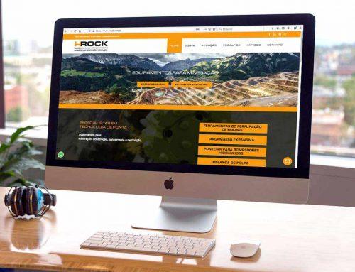 Criação de site para especializada em construção