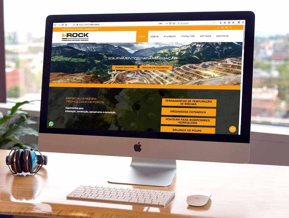 Criação de sites para especializada em construção