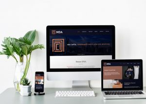 Criação de site para empresa de consultoria