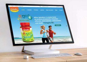 Criação de site vitrine virtual