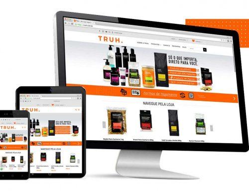 Criação de e-commerce – TRUH.