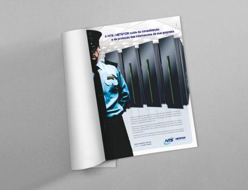 Anúncio em revista – Netstor