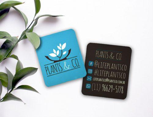 Cartão de Visita – Plants & Co