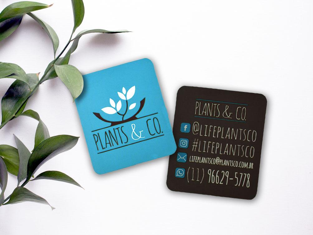Criação de logotipo para empresa de plantas