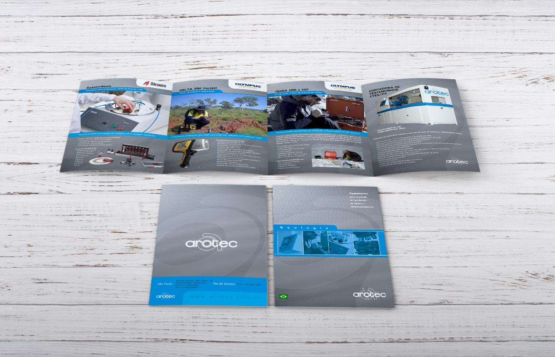 Criação de folder para indústria