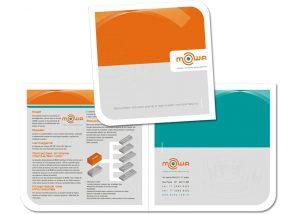 Folder para empresa de tecnologia