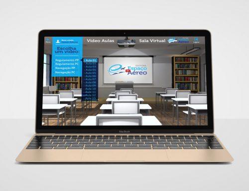 Criação de Sala de aula online