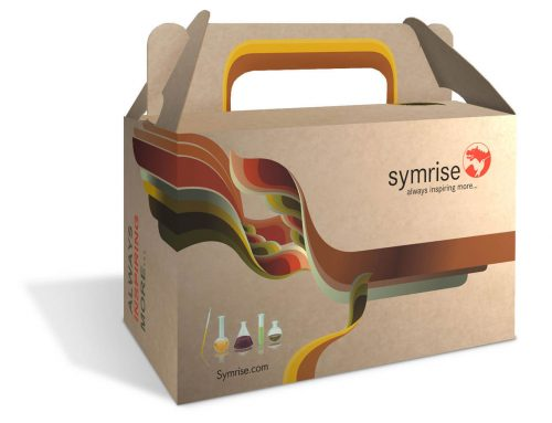 Embalagem personalizada para produtos – Symrise