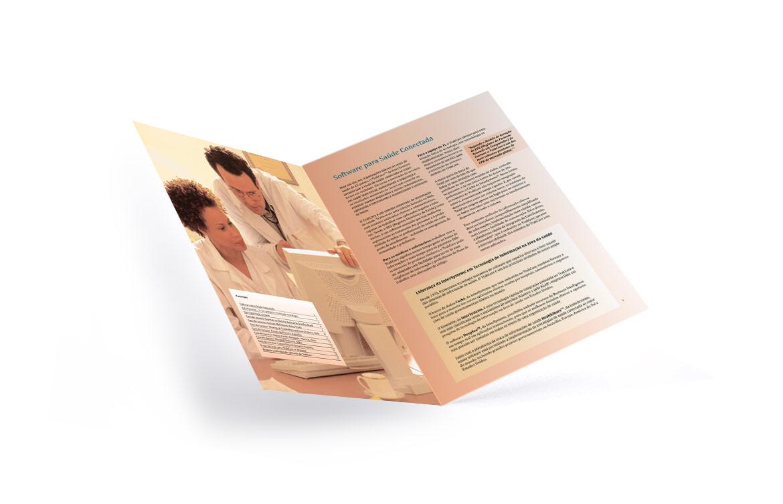 Folder personalizado de saúde