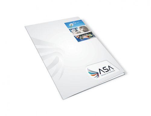 Criação de pasta personalizada – Asa